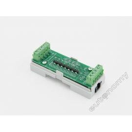 Adapter DIN euFIX S224NP (bez przycisków) do Fibaro FGS-224