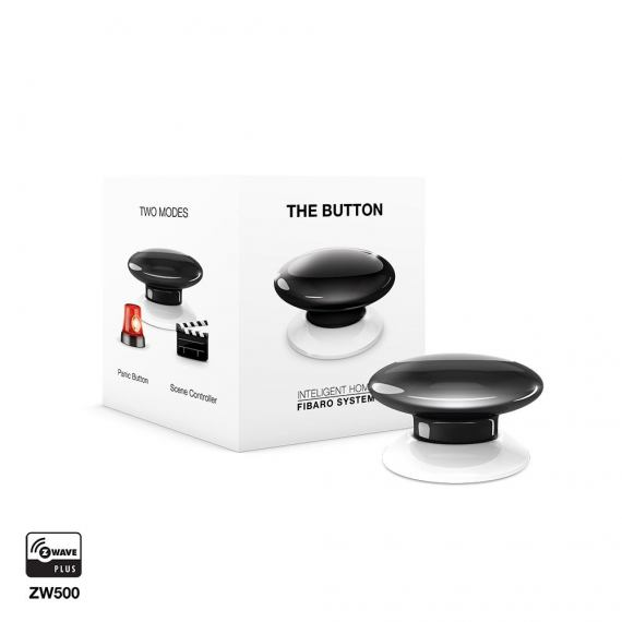 Fibaro The Button czarny