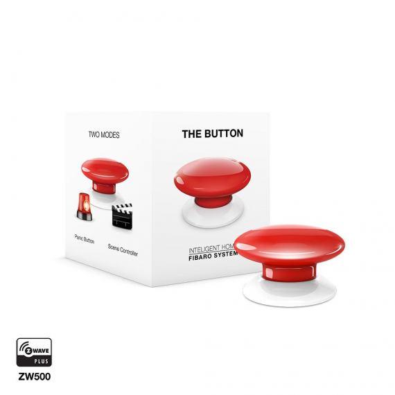 Fibaro The Button FGPB-103 czerwony