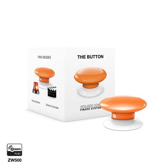 Fibaro The Button FGPB-108 pomarańczowy