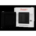 Heatit Z-Push 4x przycisk na ścianę czarny Z-wave