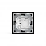 Heatit Z-Push 8x przycisk na ścianę czarny Z-wave