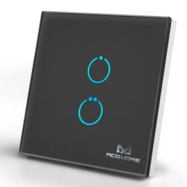 Inteligentny włącznik z dotykowym panelem Mco Home MH-S412 czarny