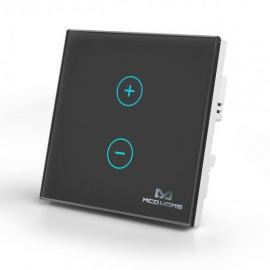Inteligentny włącznik do sterowania oświetleniem Mco Home MH-DT411 czarny