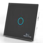 Inteligentny włącznik z panelem dotykowym Mco Home MH-S311 czarny
