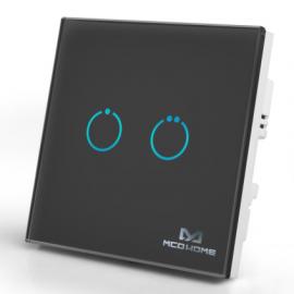 Inteligentny włącznik z panelem dotykowym Mco Home MH-S31-B2 czarny