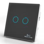 Inteligentny włącznik z panelem dotykowym Mco Home MH-S312 czarny