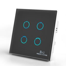 Inteligentny włącznik z panelem dotykowym Mco Home MH-S314-B czarny