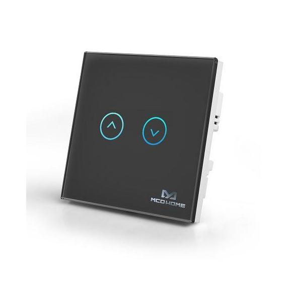 Inteligentny włącznik do sterowania roletami Mco Home MH-C321 czarny