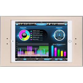 Ramka  euFRAME Essential dla Apple iPad (240 x 169.47 x 7.5 mm). Grubość 4 mm. Ivory