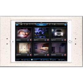 Ramka  euFRAME Essential dla Apple iPad (240 x 169.47 x 7.5 mm). Grubość 4 mm. Desert sand