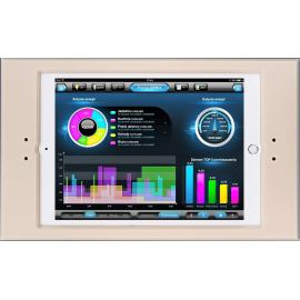 Ramka  euFRAME Essential dla Apple iPad (240 x 169.47 x 7.5 mm). Grubość 6 mm. Ivory