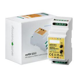 Adapter DIN z przyciskami euFIX S213 do modułu Fibaro FGS-213