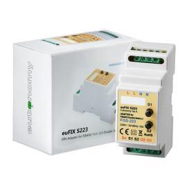 Adapter DIN z przyciskami euFIX S223 do modułu Fibaro FGS-223