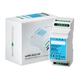 Adapter DIN euFIX D212NP (bez przycisków) do Fibaro FGD-212