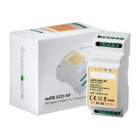 Adapter DIN euFIX S223NP (bez przycisków) do Fibaro FGS-223