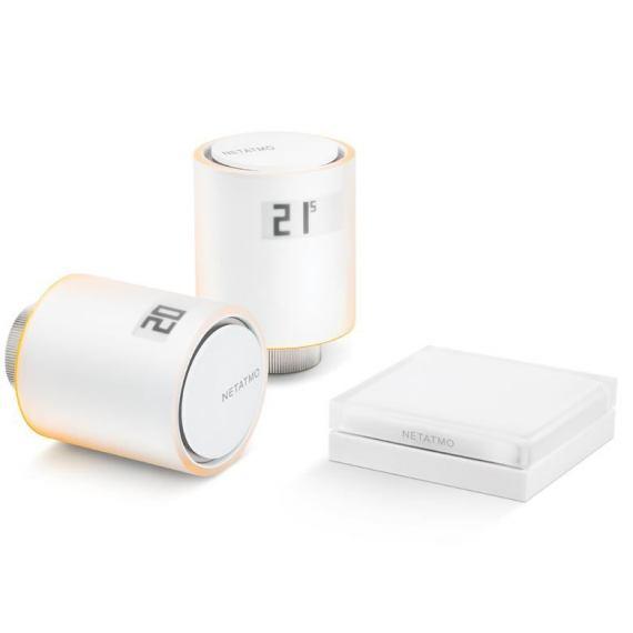 Netatmo Zestaw głowic termostatycznych smart VALVES SET. NVP-EN