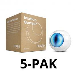 Fibaro Motion Sensor FGMS-001 ZW5 5pak