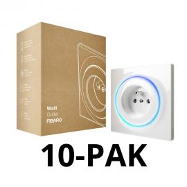 FIBARO Walli Outlet type E. FGWOE-011. 10PACK