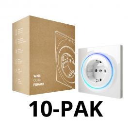 FIBARO Walli Outlet type F. FGWOF-011 (10PACK)