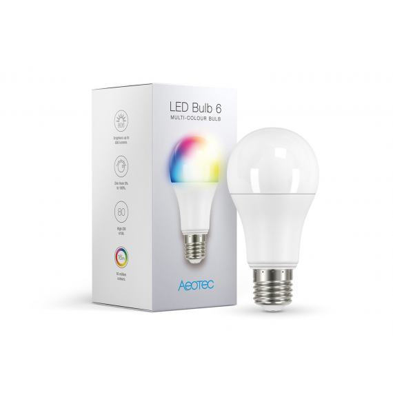 Aeotec LED Bulb 6 Multi-Color (E27) Z-wave