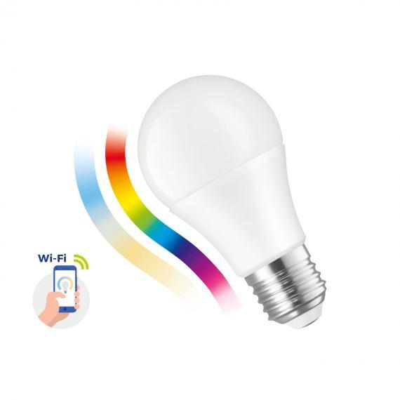 Inteligentna żarówka LED GLS 9W E-27 230V RGBW+CCT+DIM Wi-Fi Spectrum SMART