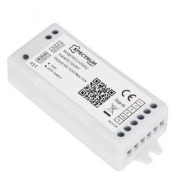Kontroler do pasków LED Wi-Fi 12/24V DC 120W/240W RGBW+CCT+DIMM