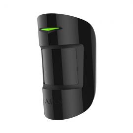Bezprzewodowy czujnik ruchu i stłuczenia szkła Ajax CombiProtect Black