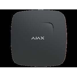 Bezprzewodowy czujnik dymu i ciepła z wbudowanym sygnalizatorem Ajax FireProtect Black