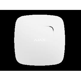 Bezprzewodowy czujnik dymu i ciepła z wbudowanym sygnalizatorem Ajax FireProtect White