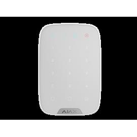 Bezprzewodowa klawiatura dotykowa do sterowania systemem Ajax Keypad White
