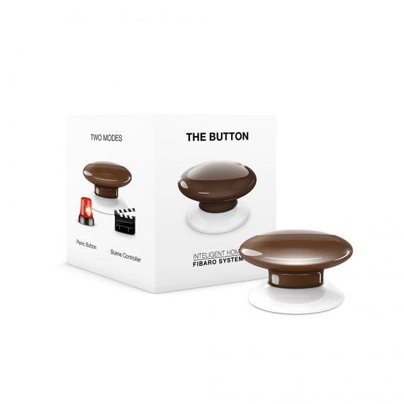 Fibaro The Button FGPB-107 brązowy